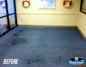 commercial carpet cleaning before